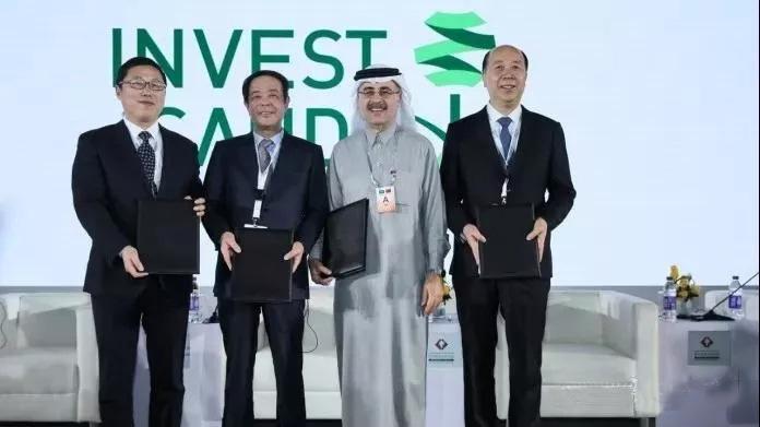 沙特阿拉伯国家石油公司加大布局中国的步伐