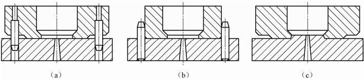 简述移动式料槽压注模的四大主要内容