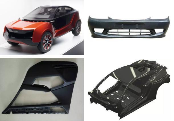汽车塑料部件有什么优点?简述汽车中的塑料部件