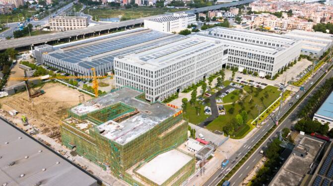 伊之密全球创新中心大楼正式封顶